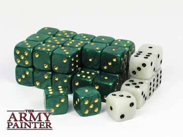 Wargaming Dice: Green (36)