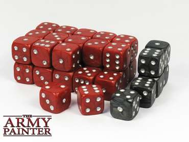 Wargaming Dice: Red (36)