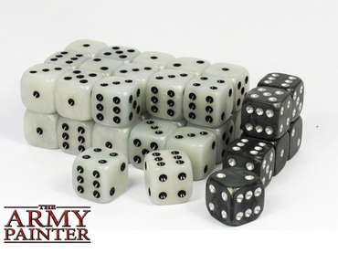 Wargaming Dice: White (36)
