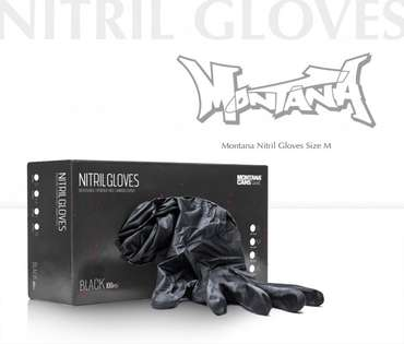 Montana Nitril Gloves - M (100 pcs.)