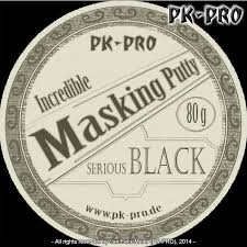PK Incredible Masking Putty schwarz - 80g