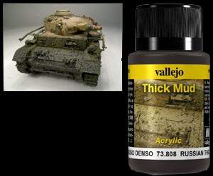 Vallejo Weathering Effects Thick Mud Russian 40 ml