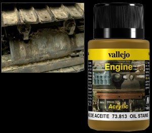 Vallejo Weathering Effects Engine Effect Oil Stains 40 ml