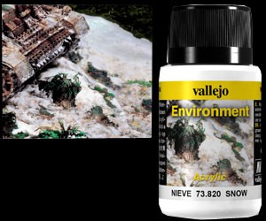 Vallejo Weathering Effects Environment Snow 40 ml