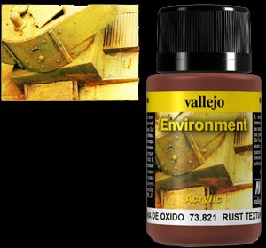 Vallejo Weathering Effects Environment Rust Texture 40 ml