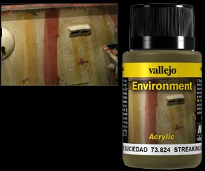 Vallejo Weathering Effects Environment Streaking Grime 40 ml