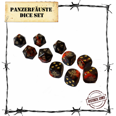 Dice Set (10 pcs.) - Panzerfäuste