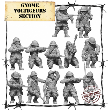 Gnome Voltiguer Section (12 pcs.) - Panzerfäuste