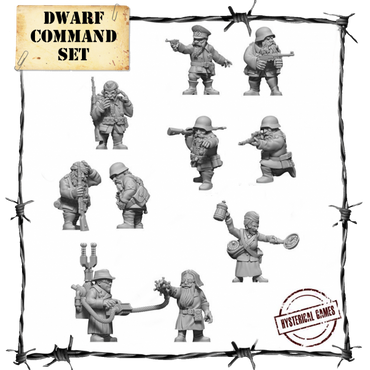 Dwarf Command Set (10 pcs.) - Panzerfäuste