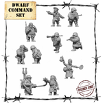 Dwarf Command Set (10 pcs.) - Panzerfäuste 001