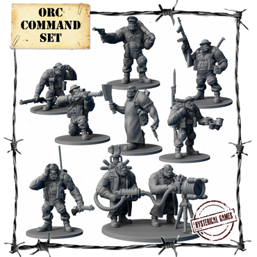 Orc Command Set (9 pcs.) - Panzerfäuste