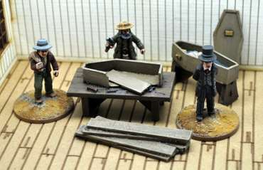 Undertaker Civilians Set