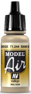 Model Air 71244 Camouflage Sandbeige (RAL1039) 17ml