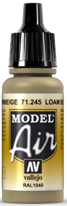 Model Air 71245 Lehmbeige (RAL1049) 17ml