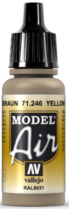 Model Air 71246 Yellow Brown (RAL8031) 17ml
