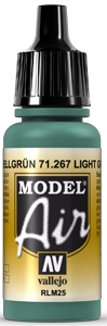 Model Air 71267 Light Green (RLM25) 17ml