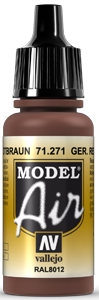 Model Air 71271 Rotbraun (RAL8012) 17ml