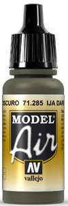 Model Air 71285 IJA Dark Green 17ml