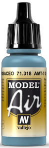 Model Air 71318 AMT-7 Greyish Blue 17ml