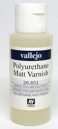Vallejo Polyurethane Varnish Matt (60ml)