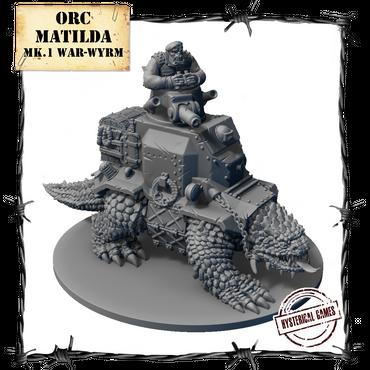 Orc Matilda Mk.I War-Wyrm - Panzerfäuste