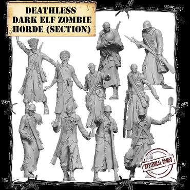Deathless Dark Elf Zombie Horde - Panzerfäuste
