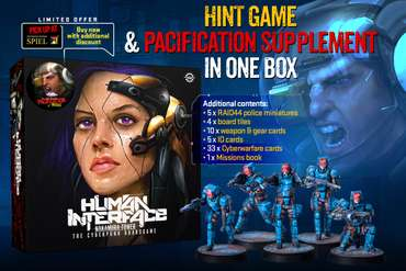 HINT Core Game + Pacification Supplement in one box