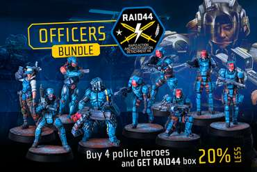 RAID44 Police Officers Bundle - HINT