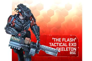 BSC ExoSkeleton 'Flash' - HINT