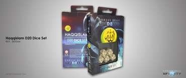 Haqqislam D20 Dice Set (5 pcs.)