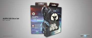 Aleph D20 Dice Set (5 pcs.)