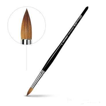 Retouching brush 0 - Pure Kolinsky - DaVinci