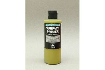 Vallejo Surface Primer German Dark Yellow (RAL7028) (200ml)