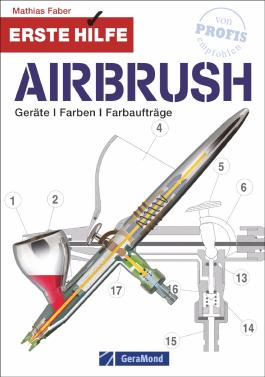 Erste Hilfe Airbrush book - Mathias Faber (German Version)