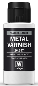 Metal Color Metall Glanzlack (Gloss Metall Varnish) (60ml)