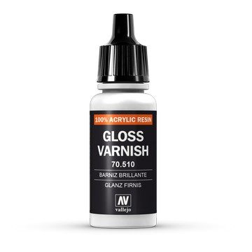 Vallejo Glanzlack (Glossy Varnish), 17 ml (510/VA193)
