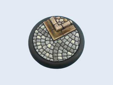 Cobblestone Base, WRound 50mm (1)