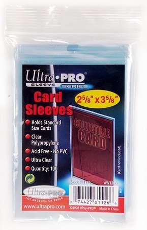 Sleeves Standard - Regular Soft Card (100)