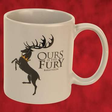 Game of Thrones: House Baratheon - Ours is the Fury Tasse
