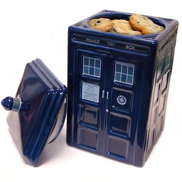 Dr. Who: Tardis Ceramic Cookie Jar