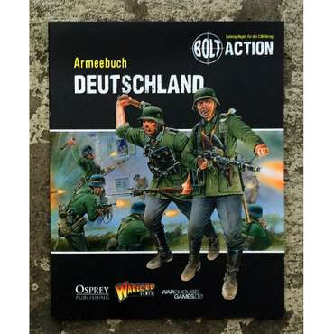 Armeebuch Deutschland - German Edition - Bolt Action