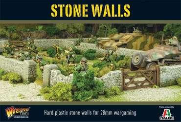 Stone Walls Plastic Boxed Set - Bolt Action