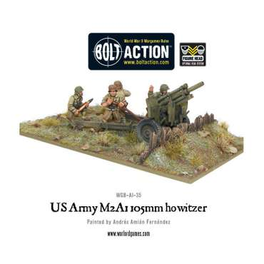 US Army M2A1 105mm Howitzer - Bolt Action