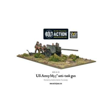 "US Army M5 3"" Anti-Tank Gun - Bolt Action"