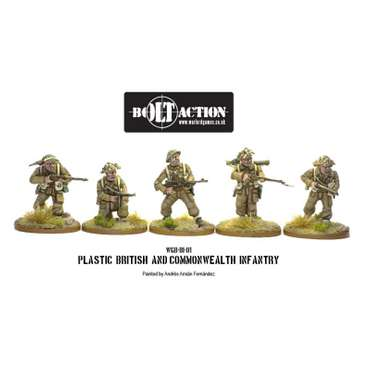 British Infantry (25) - Bolt Action – Bild 2