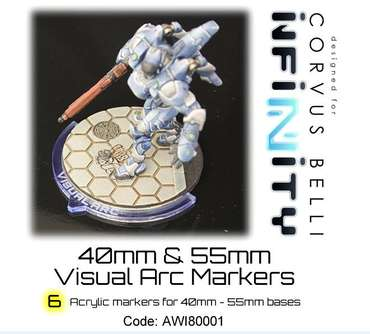 Visual Arc Markers 40mm & 55mm (6)