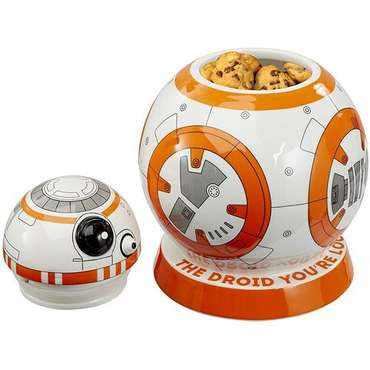 Star Wars: BB-8 Keksdose mit Sounds
