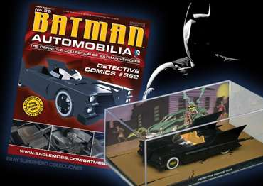 Batmobil - Detective Comics #362 - Batman Automobilia No. 29