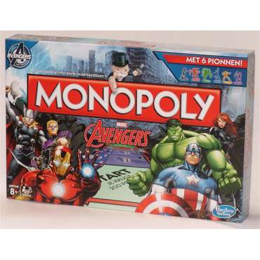 Monopoly Avengers (dutch)