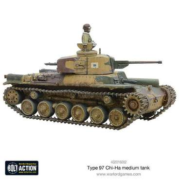 Chi-Ha Japanese Tank - Bolt Action – Bild 4